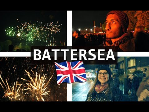 Top Things To Do in LONDON | Battersea Park Fireworks 2017