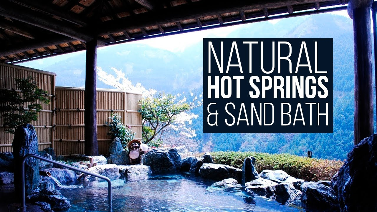 Japan Trip for Natural Hot Springs & The SAND BATH - YouTube