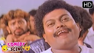 Sadhu Kokila funny reply to Lecturer Question - AK 47 Kannada Movie Comedy Scenes