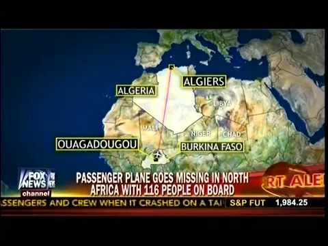 Passenger Plane Goes Missing In North Africa With 116 People On Board - America`s Newsroo