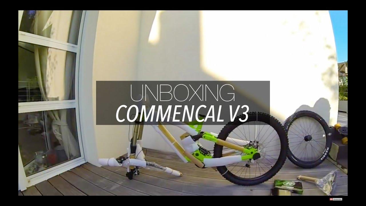 0f3667791dc Commencal Supreme DH V3 Unboxing - YouTube