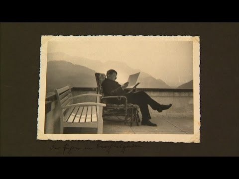 Never-seen-before Hitler candid photo album to be auctioned