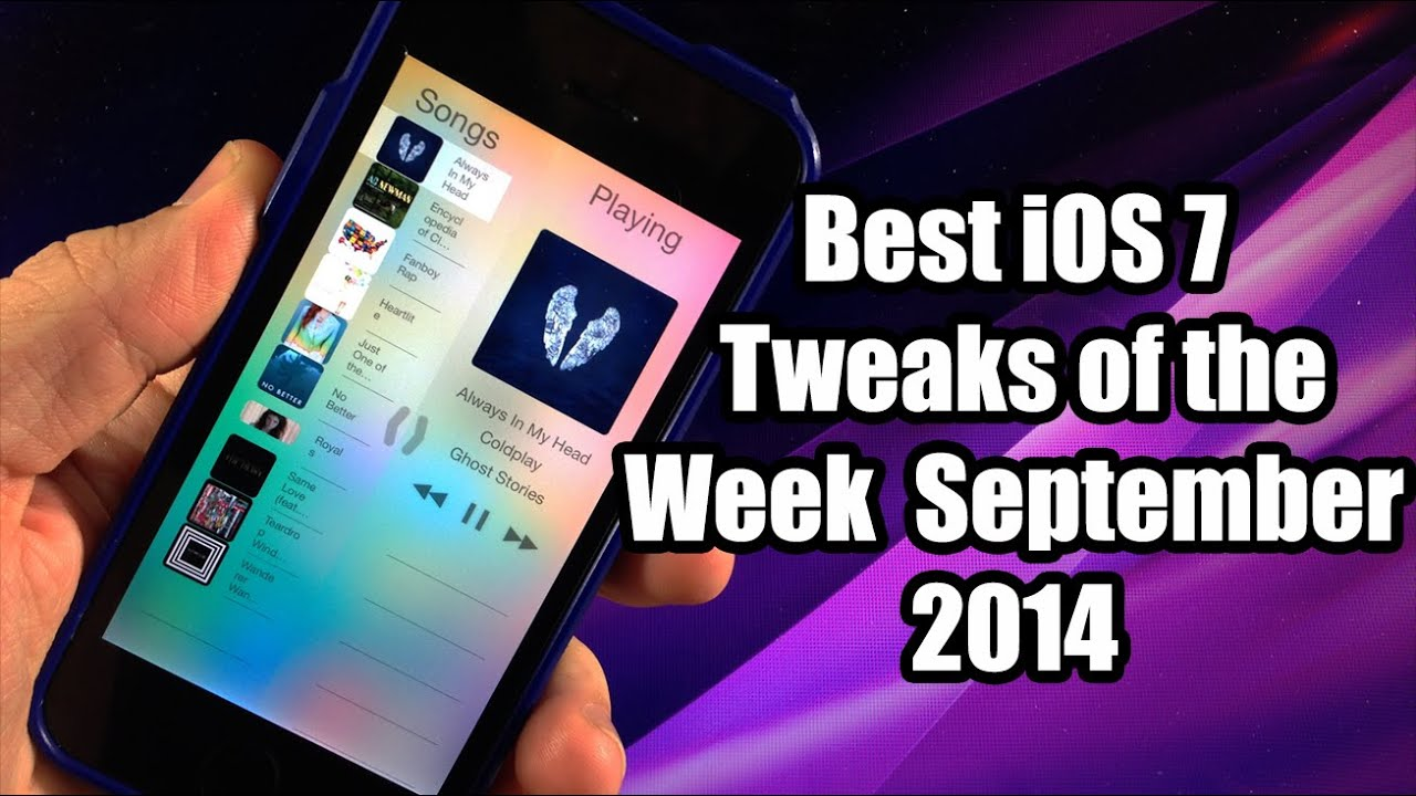 Best Ios 7 Jailbreak Tweaks Of The Week September 2014 Youtube