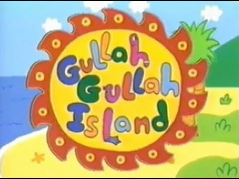 Gullah Gullah Island  - sing along (lyrics)