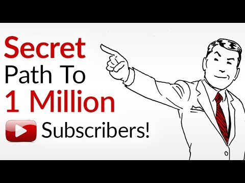 My Path To 1 Million Subscribers | How To Build A YouTube Channel With 1,000,000 Subs | THANK YOU!