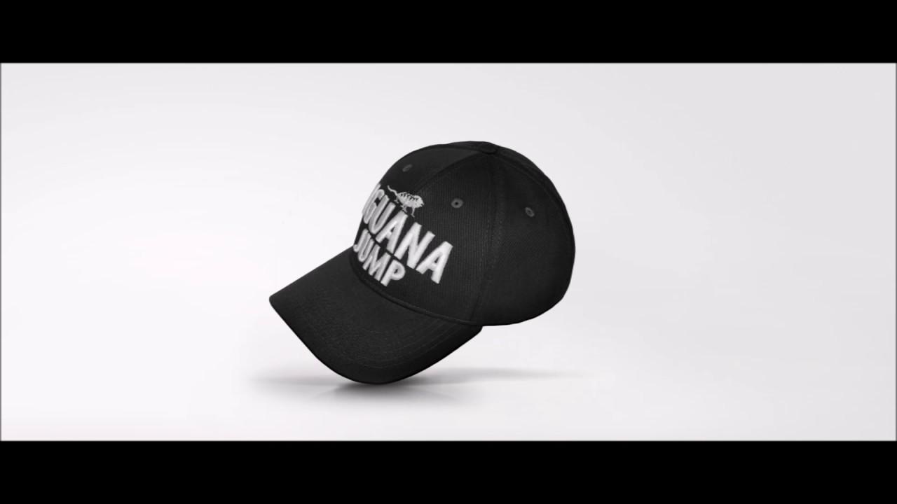 Boné preto snapback - aba curva - Iguana Jump - YouTube 8ade5aecec1d4