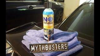 MYTHBUSTING ONR! Testing 3 internet myths about Optimum No Rinse