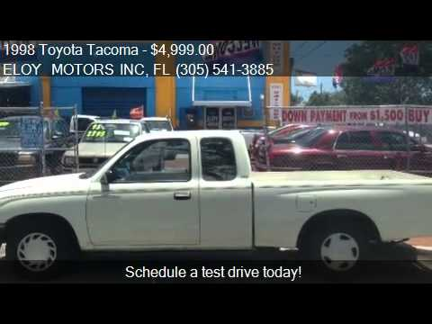 1998 toyota tacoma sr5 2dr extended cab sb for sale in miami youtube. Black Bedroom Furniture Sets. Home Design Ideas
