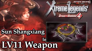 Dynasty Warriors 4: Xtreme Legends (100%): Sun Shang Xiang - Level 11 Weapon | Astral Chakram |
