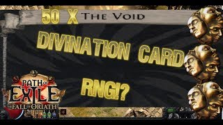 [Path of Exile] Handing in 50 of 'THE VOID' ft. RNGESUS