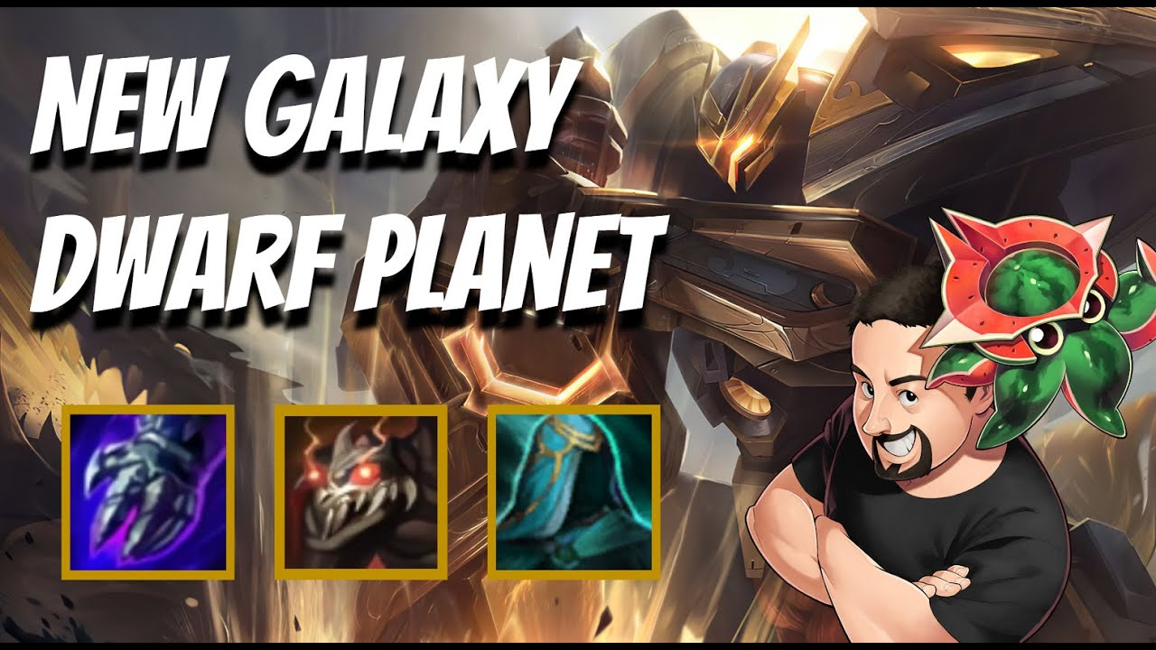 New Galaxy - Dwarf Planet Mech | TFT Galaxies | Teamfight Tactics