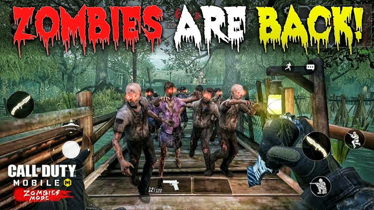 ZOMBIES ARE BACK IN NEW UPDATE