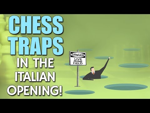 Chess Secret Traps in the Italian Opening 🤓 with GM Damian L