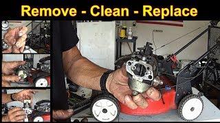 Lawn Mower Surging - Small Engine Repair - Off Engine Carburetor Cleaning #SideHustle