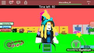 Playing roblox 's top model in roblox. (It's funny)