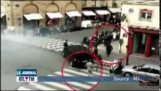 Braquage d'une bijouterie de luxe en journée Place Vendôme PARIS