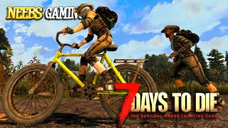 7 Days to Die: How to Build a Bike!