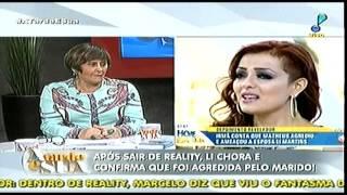Programa A Tarde é Sua com Sonia Abrão 06/11/2015