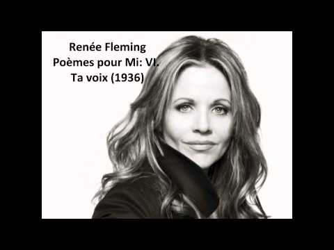 "Renee Fleming: The complete ""Poèmes pour Mi"" (Messiaen)"