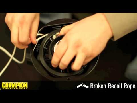 How-To: Fix a Broken Recoil Rope