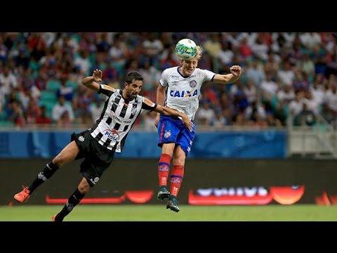 Bahia 4 X 0 Tupi. Gols de Cajá, Wesley, Juninho e Regis. (9/10/2016)