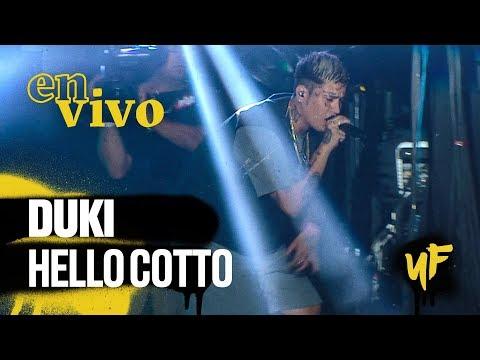 Duki - Hello Cotto (en Vivo En #BuenosAiresTrap)
