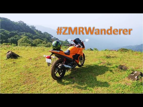 ZMR Wanderers Bike ride on Karizma from Bangalore to Coorg