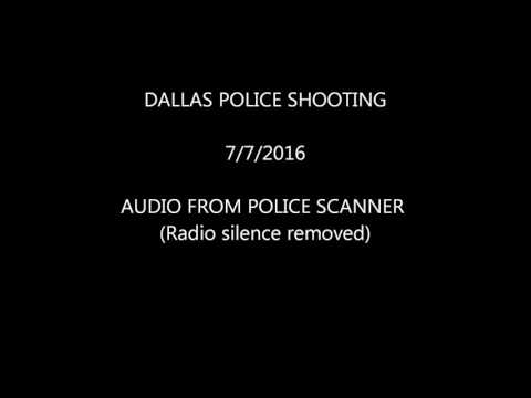Dallas Police Scanner, 7/7/16 Shooting