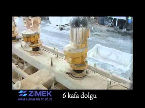 Travertine Cement Filling Machine