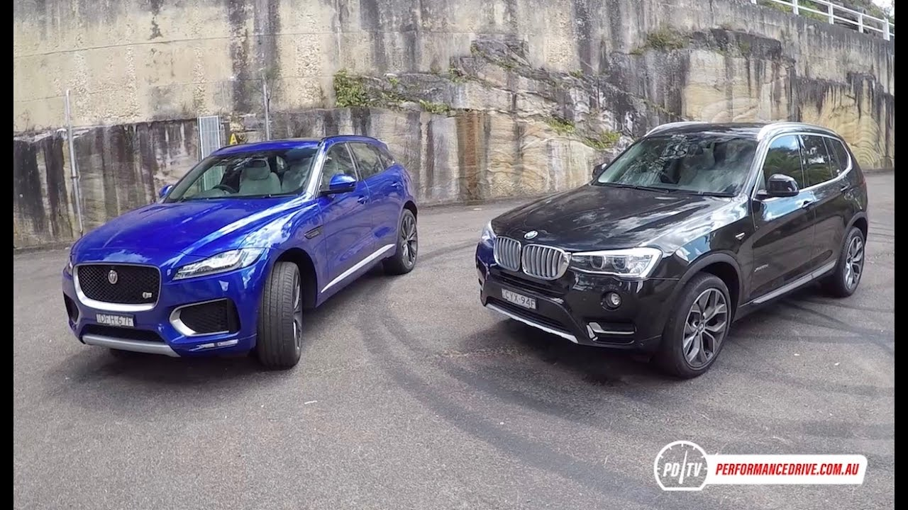 Jaguar F Pace 30d Vs Bmw X3 Xdrive30d Suv Comparison Pov