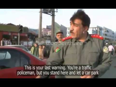 Honest Afghan Police Officers