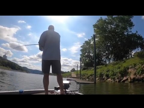 Bass Fishing The Kanawha River For The First Time