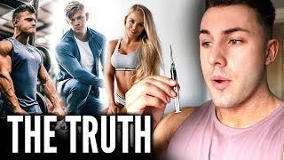 Telling My Friends I'm NOT Natural *HONEST REACTIONS* ft. Rob Lipsett, Merijn & Jade Joselyn