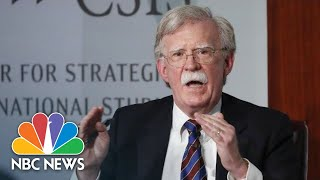 John Bolton: 'Every Day That Goes By Makes North Korea A More Dangerous Country' | NBC News