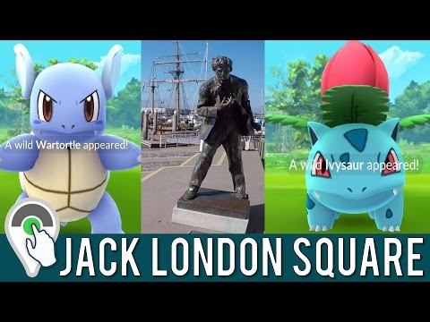 Destination Pokemon GO at Jack London Square in Oakland, California!