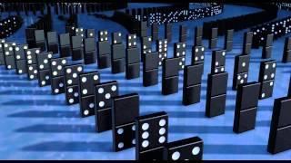 Robots domino scene