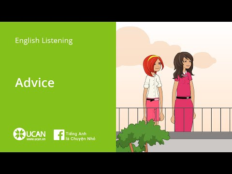 Learn English Listening | Elementary - Lesson 8. Advice