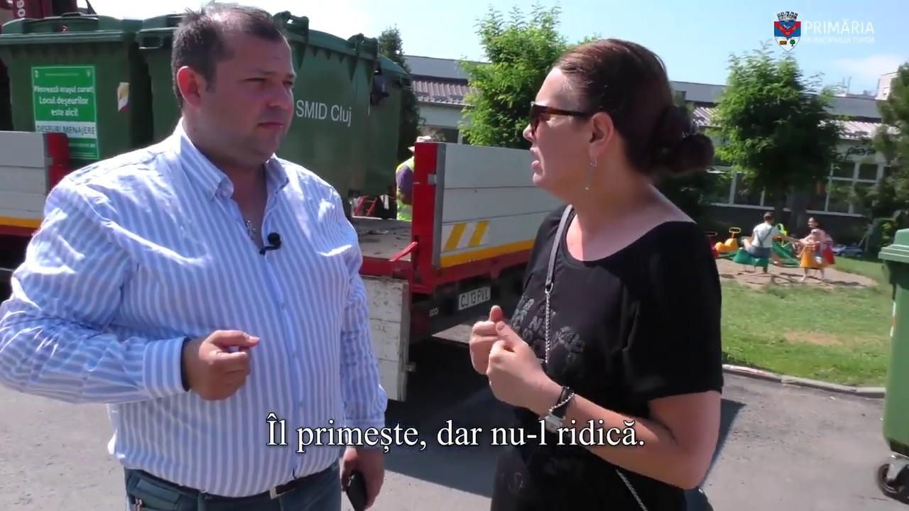 Primăria Turda: Acțiunile fiecăruia dintre noi contează! (26.06.2019)