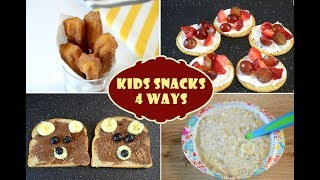 Kids Snacks Recipes | Quick And Easy Recipes For Kids | Fun Food For Kids