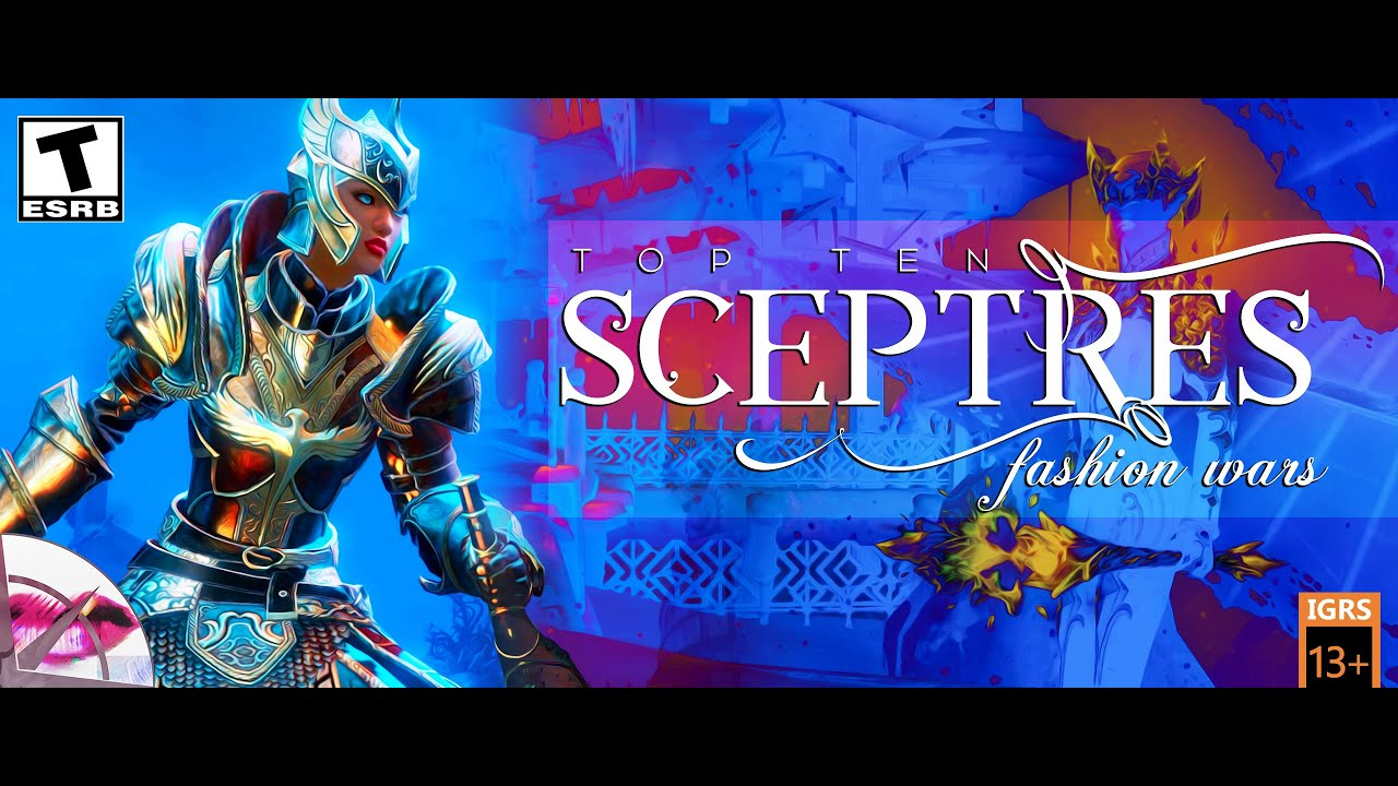Guild Wars 2 | Top Ten Sceptres | Fashion Wars 2019 | The Herald
