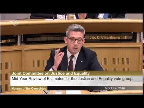 Niall Ó Donnghaile questions Tánaiste on EU Rights post Brexit