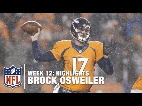 Brock Osweiler Highlights (Week 12) | Patriots vs. Broncos | NFL