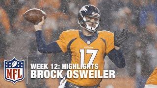 Brock Osweiler Highlights (Week 12) | Patriots vs. Broncos | NFL