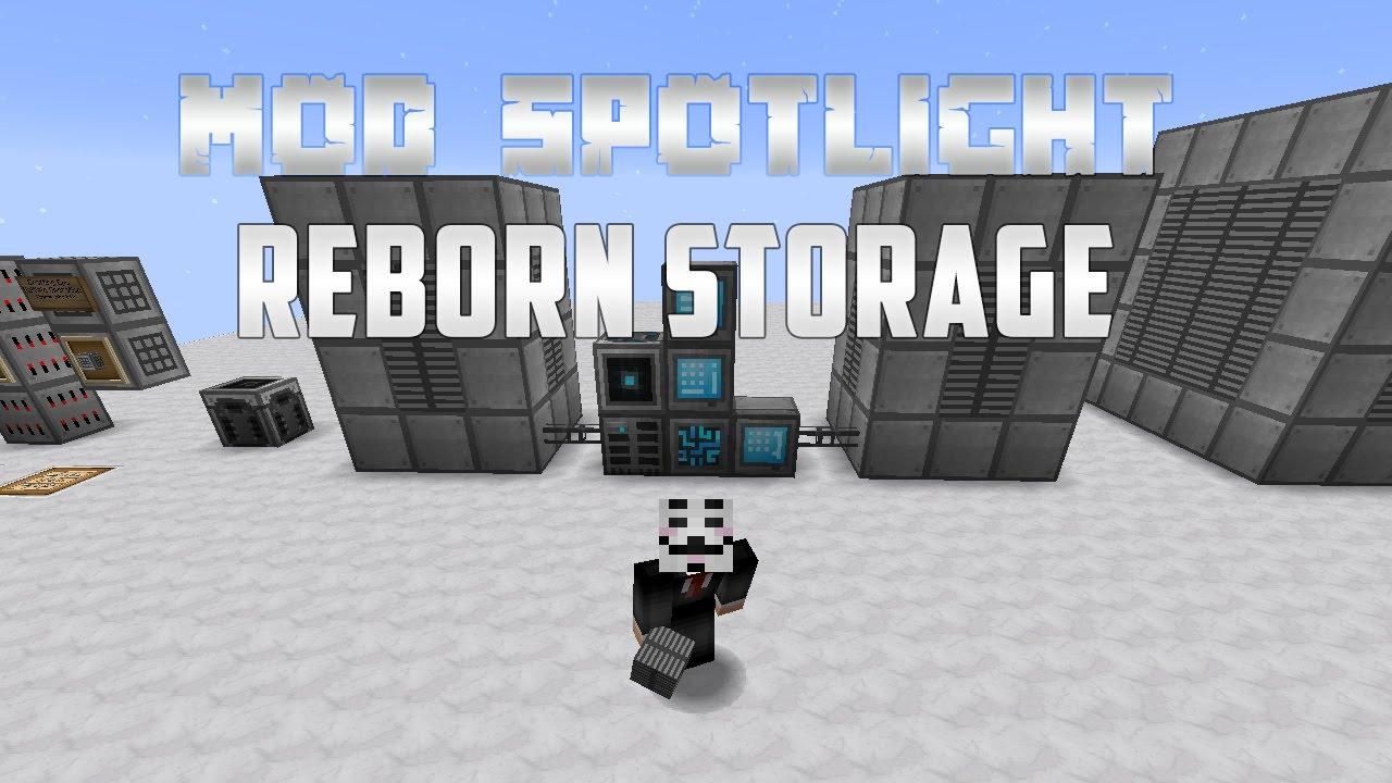 Mod Spotlight - Reborn Storage - Refined Storage Addon