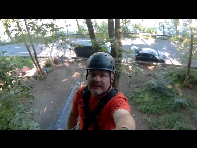 Klettern bei 30Grad im brüchigem Schiefer