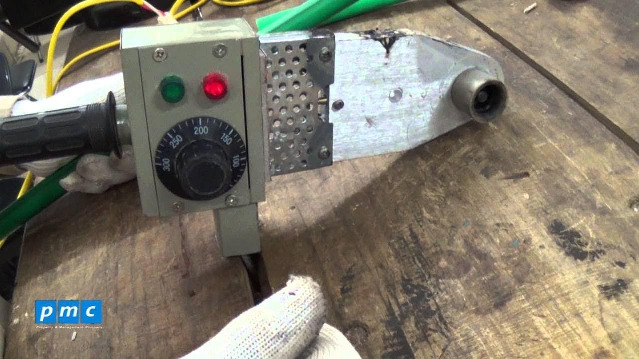 Hóa ra đây là cách hàn ống nhựa nước sạch | Cách hàn ống PPR, ống nước chịu nhiệt, ống nước nóng