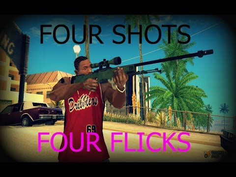 CS:GO Matchmaking Highlight #1 | Four Shots Four Flicks | By: Rain
