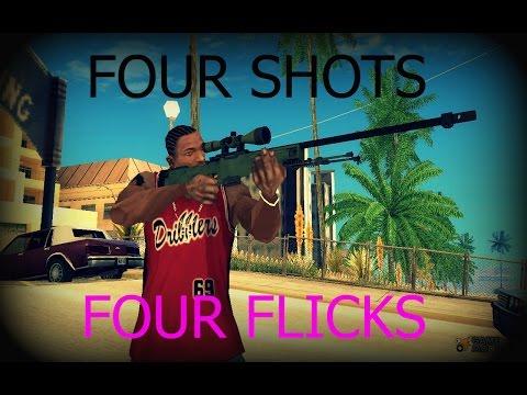 CS:GO Matchmaking Highlight #1 | Four Shots Four Flicks | By: Rain