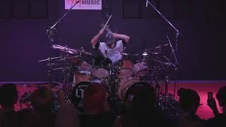 Jay Weinberg plays quot;The Devil In Iquot;