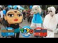 Ipin & Pocong LUCU Joget Lagu TAYO the little bus
